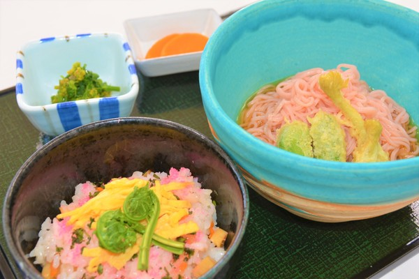 レストラン「岳庵」新メニュー
